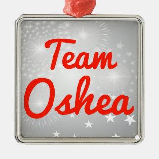 Equipo Oshea Adorno Navideño Cuadrado De Metal