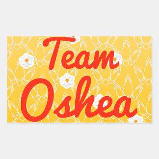 Equipo Oshea Pegatina Rectangular