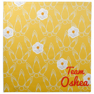 Equipo Oshea Servilletas Imprimidas
