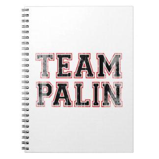 EQUIPO PALIN (rojo negro) Faded.png colegial Libro De Apuntes Con Espiral