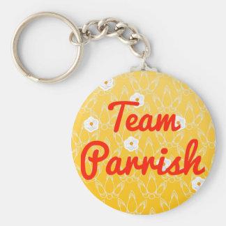 Equipo Parrish Llaveros Personalizados