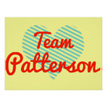 Equipo Patterson Posters