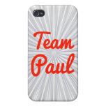 Equipo Paul iPhone 4/4S Carcasas
