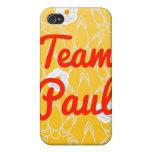 Equipo Paul iPhone 4 Funda