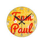 Equipo Paul Relojes De Pared