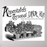 Equipo personal de la DNA de Ahnentafel Posters