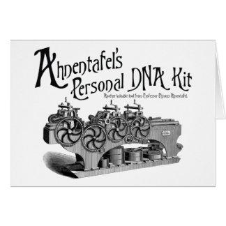 Equipo personal de la DNA de Ahnentafel Tarjeta De Felicitación