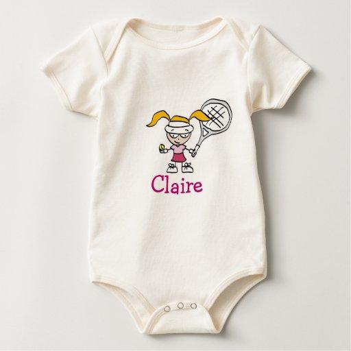 Equipo personalizado del bebé con el dibujo body para bebé