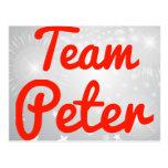 Equipo Peter Postales