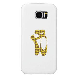 Equipo Pointe Argyle de HI54DANCE Fundas Samsung Galaxy S6