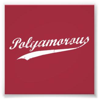 Equipo Polyamory Polyamorous y orgulloso Cojinete