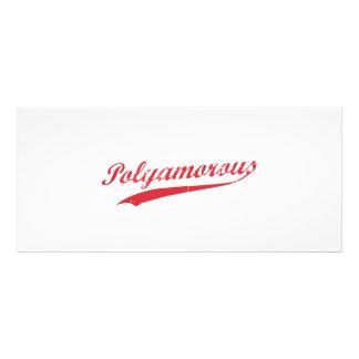 Equipo Polyamory Polyamorous y orgulloso Lonas Publicitarias