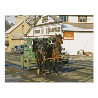 Equipo-Postal del U-Recorrido de Amish Postal