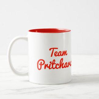 Equipo Pritchard Tazas