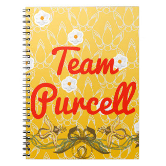 Equipo Purcell Spiral Notebook
