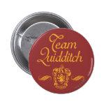 Equipo Quidditch Pin Redondo 5 Cm