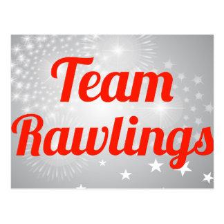 Equipo Rawlings Tarjetas Postales