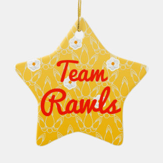Equipo Rawls Ornamentos De Navidad