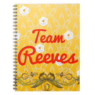 Equipo Reeves Spiral Notebook