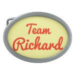 Equipo Richard Hebilla Cinturon Oval