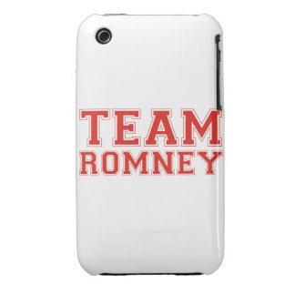 EQUIPO ROMNEY Case-Mate iPhone 3 FUNDAS