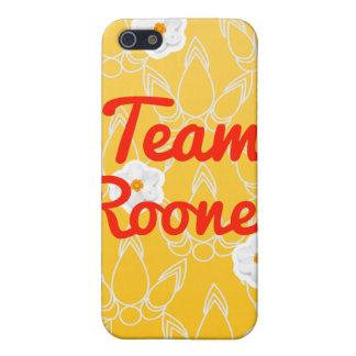 Equipo Rooney iPhone 5 Coberturas