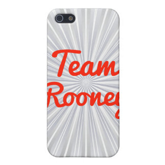 Equipo Rooney iPhone 5 Protector