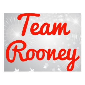 Equipo Rooney Postales