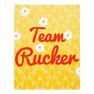 Equipo Rucker Flyer A Todo Color