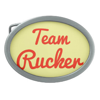 Equipo Rucker Hebillas De Cinturón