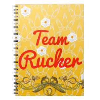 Equipo Rucker Libro De Apuntes