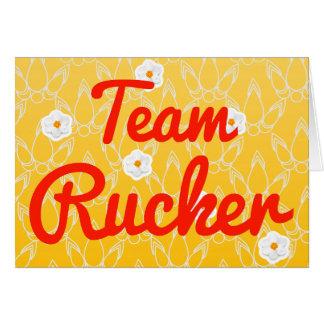 Equipo Rucker Tarjetas