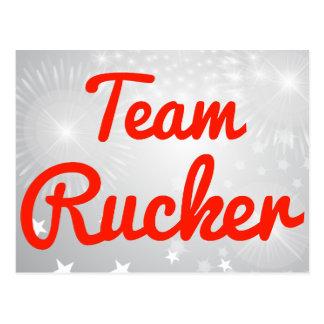 Equipo Rucker Postales