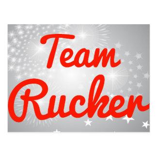 Equipo Rucker Tarjetas Postales