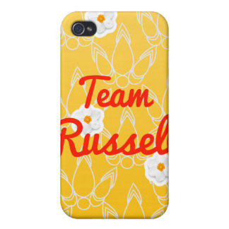 Equipo Russell iPhone 4 Protectores