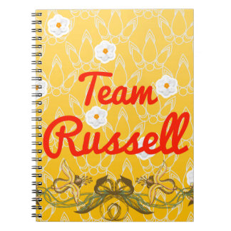 Equipo Russell Libros De Apuntes Con Espiral