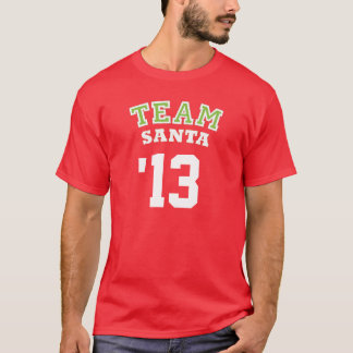 Equipo Santa - camisa del personalizado del