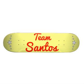 Equipo Santos Patineta Personalizada
