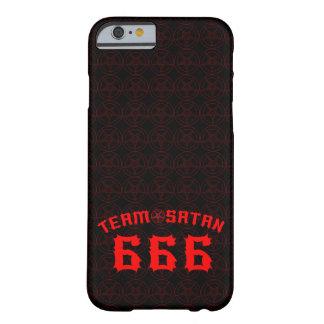 Equipo Satan 666 Funda De iPhone 6 Barely There