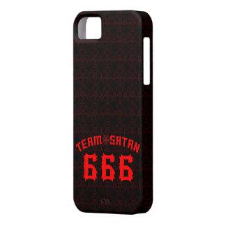 Equipo Satan 666 Funda Para iPhone 5 Barely There