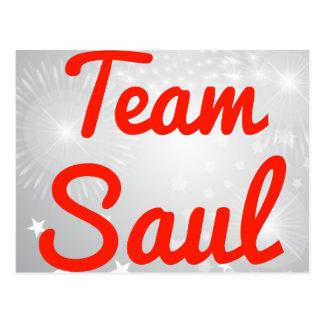 Equipo Saul Tarjeta Postal