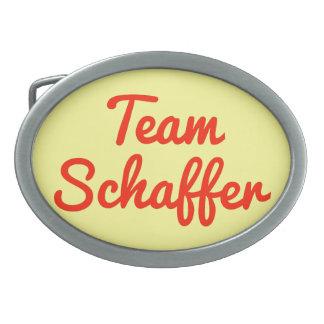 Equipo Schaffer Hebilla De Cinturón