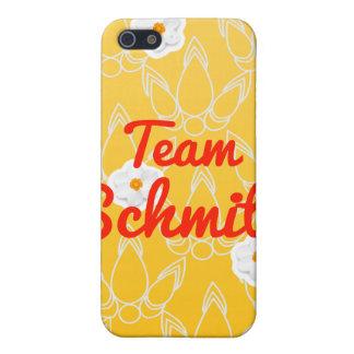 Equipo Schmitt iPhone 5 Carcasas