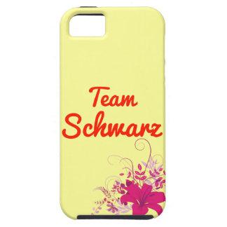 Equipo Schwarz iPhone 5 Case-Mate Cárcasas