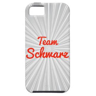 Equipo Schwarz iPhone 5 Carcasa