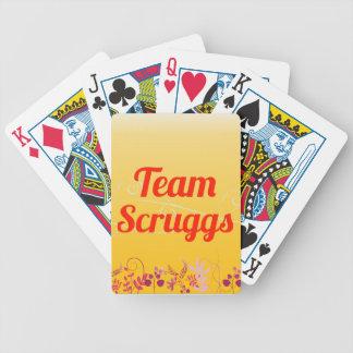 Equipo Scruggs Baraja