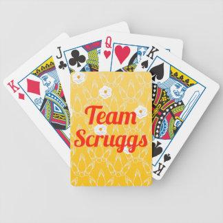 Equipo Scruggs Barajas De Cartas