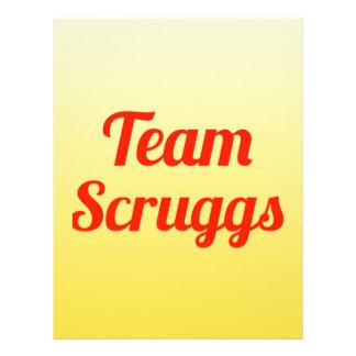 Equipo Scruggs Tarjetas Informativas