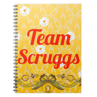 Equipo Scruggs Libreta