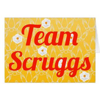 Equipo Scruggs Tarjetas